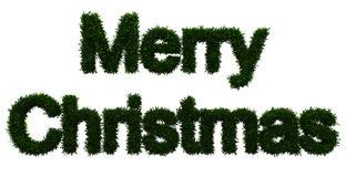 Merry Christmas inscription Stock Images