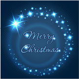 Merry Christmas inscription. Stock Images