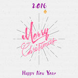 Merry christmas insignia  and labels for any use Stock Images
