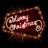 Merry Christmas invitation Stock Photos