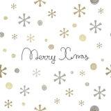 Merry Christmas lettering design Stock Photo