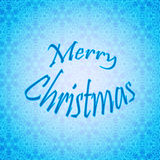 Merry Christmas Lettering Design. Vector card. Holiday background. stock photos