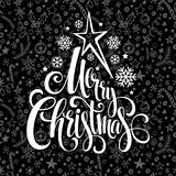 Merry Christmas lettering design. Vector Stock Photography