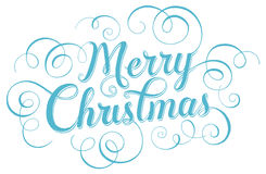 Merry Christmas. Lettering. Merry Christmas 2015. Hand lettering Stock Images