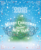 MERRY CHRISTMAS lettering1 Stock Photos