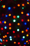 Merry christmas lights. Beauty of colors royalty free stock photography