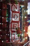 Merry christmas lights noel. Merry christmas lights beauty of colors lights noel stock photography