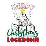 Merry Christmas Lockdown 2020-Funny greeting card for Christmas