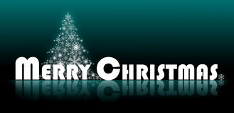 Merry Christmas Logo Stock Photography