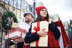 Before Merry Christmas Royalty Free Stock Photos