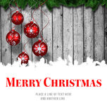 Merry Christmas message Royalty Free Stock Photography