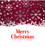 Merry Christmas message Royalty Free Stock Photo