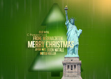 Merry Christmas multilingual Stock Image