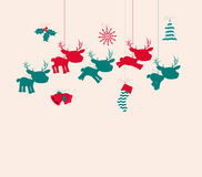 Merry christmas navidad Royalty Free Stock Images