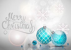 Merry Christmas and New Year Background. Vector Illustration. EPS10n Stock Photos