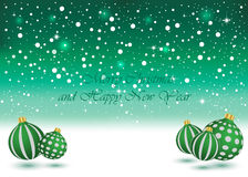 Merry Christmas and New Year background. Merry Christmas and New Year background for your invitations, festive posters Royalty Free Illustration