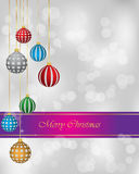Merry Christmas and New Year background for your invitations, festive posters. Christmas background for seasonal cards and event, posters Stock Illustration