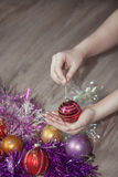 Merry Christmas and New Year Royalty Free Stock Images