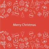 Merry Christmas New Year Stock Photos