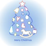 Merry Christmas21 Royalty Free Stock Photo