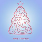 Merry Christmas22 Royalty Free Stock Photography