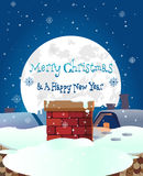 Merry christmas and new years abstract background banner .vector. Eps 10 Royalty Free Stock Photography