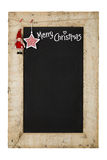 Merry Christmas New Years Chalkboard Royalty Free Stock Images