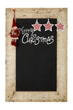 Merry Christmas New Years Chalkboard Royalty Free Stock Image