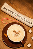 Merry christmas newspaper Stock Images