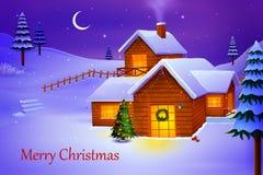 Merry Christmas night Stock Photos