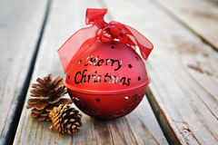 Merry Christmas Ornament royalty free stock photo