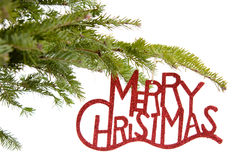 Merry Christmas ornament Stock Images