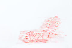 Merry Christmas painted backgrounds Stock Images