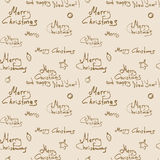 Merry Christmas Pattern Royalty Free Stock Images