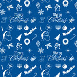 Merry Christmas Pattern royalty free stock photography