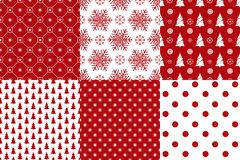 Free Merry Christmas Pattern Seamless Collection.Xmas Background Stock Photo - 130684140