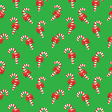 Merry Christmas pattern. Merry Christmas seamless vector pattern with candies Royalty Free Stock Photos