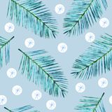 Merry christmas pattern with  snowflakes illustration stock photography
