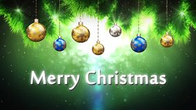 Merry Christmas stock video footage