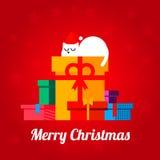 Merry Christmas post Stock Photos