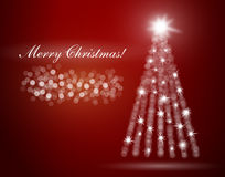 Merry Christmas postcard Royalty Free Stock Photo