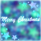 Merry Christmas postcard Royalty Free Stock Photos