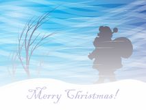 Merry Christmas. Postcard for Christmas 2017. Vector format Royalty Free Stock Photography