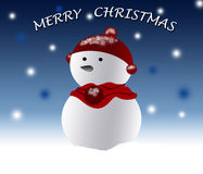 Merry christmas poster Royalty Free Stock Image