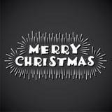 Merry christmas poster design Royalty Free Stock Photos