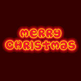 Merry christmas poster design Royalty Free Stock Images