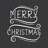 Merry christmas poster design Stock Images