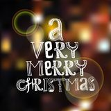 Merry christmas poster Royalty Free Stock Images