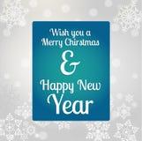 Merry christmas poster Stock Photos