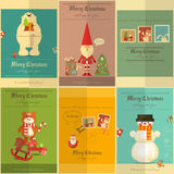 Merry Christmas Posters Stock Image